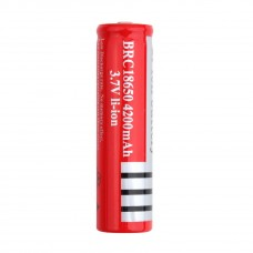 18650 4200mAh 3.7 Volt Protected Rechargeable Battery