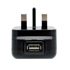 USB Plug Mains Charger - UK