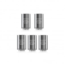 Eleaf Lyche Notchcoil NC Coil Head - Silver, 316 Stainless Steel, 0.25 Ohm 5 PACK