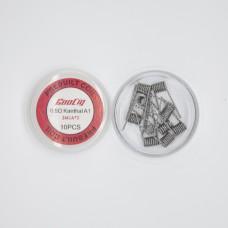 GooCig Pre-Built Coils UK (10 Pieces)
