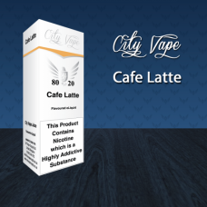 10ml - Cafe Latte (City Vape)