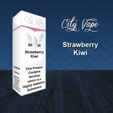 10ml - Strawberry and Kiwi (City Vape)