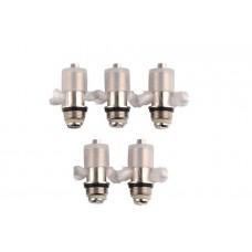 MAXI and 1453 Clearomizer Replacement Coil Heads - 5 Pack