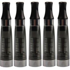 5 x BLACK CE5 Clearomizer Wickless System