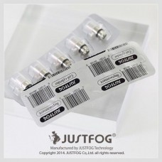 Justfog 1453 Clearomizer Replacement Coil Heads - 5 Pack